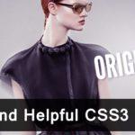 15+  Unique And Helpful CSS3 Tutorials 37