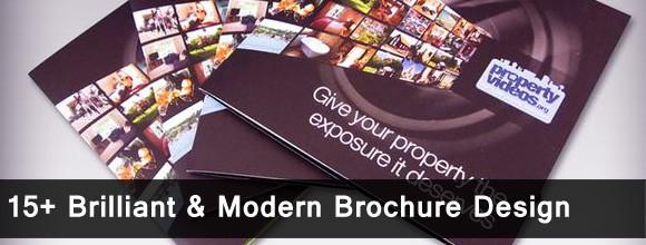 15+ Brilliant & Modern Brochure Design 1