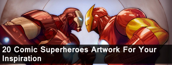 20 Comic Superheroes Artwork for your Inspiration 1