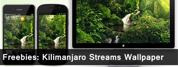 Freebies: Kilimanjaro Streams Wallpaper 1