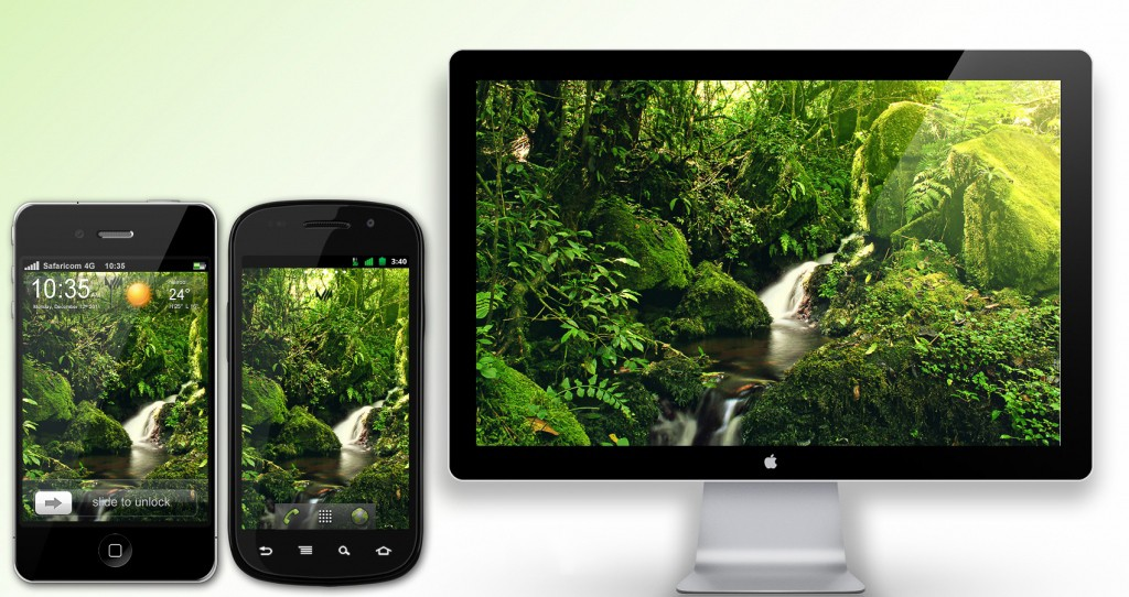 Freebies: Kilimanjaro Streams Wallpaper 36