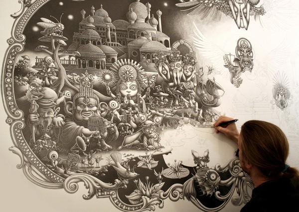 Insanely Detailed Artwork By Joe Fenton 45