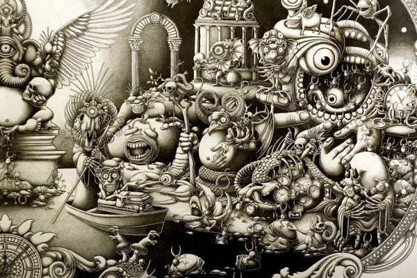 Insanely Detailed Artwork By Joe Fenton 48