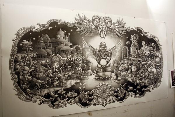 Insanely Detailed Artwork By Joe Fenton 50