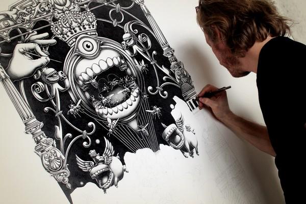 Insanely Detailed Artwork By Joe Fenton 38