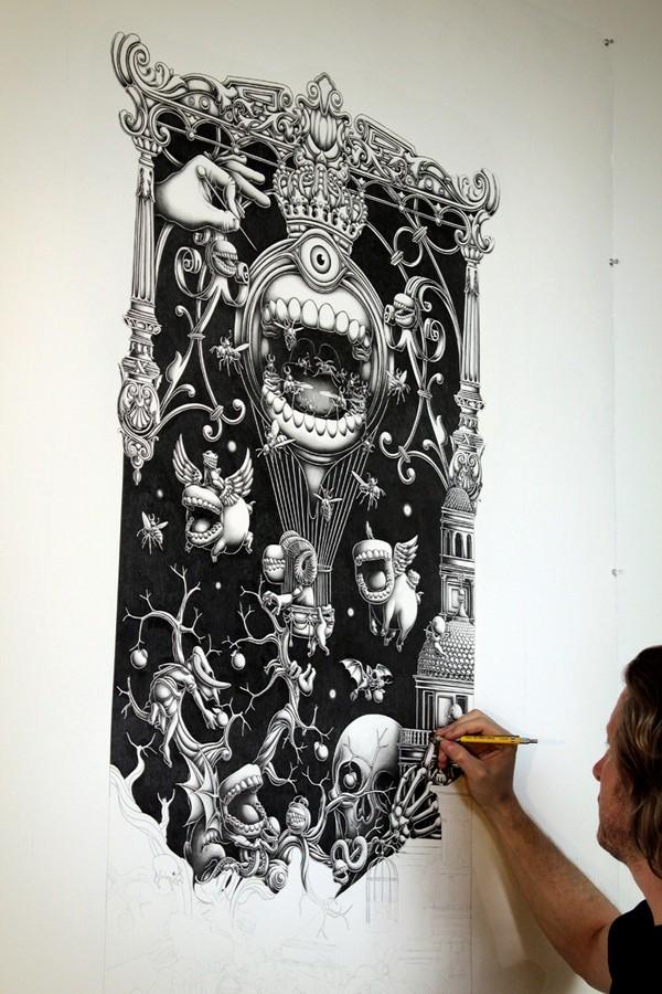 Insanely Detailed Artwork By Joe Fenton 39