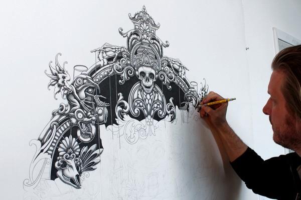 Insanely Detailed Artwork By Joe Fenton 41