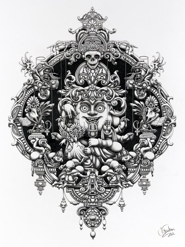 Insanely Detailed Artwork By Joe Fenton 43