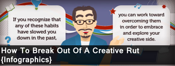 How to Break Out of a Creative Rut: Infographics Design 1