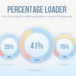 html5 percentage loader