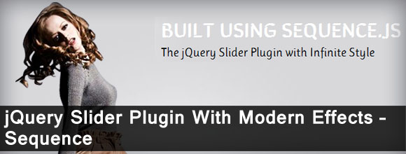 jQuery Slider Plugin With Modern Effects – Sequence 1