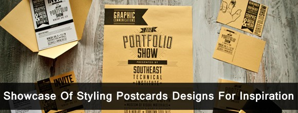Showcase Of Styling Postcard Designs For Inspiration 1