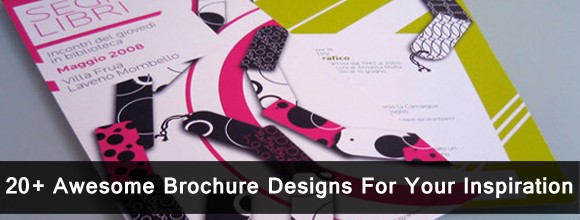 20 + Awesome Brochure Designs For Your Inspiration 1
