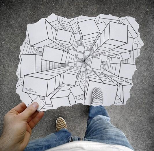 Pencil Vs Camera – Creative Artwork by Ben Heine 36