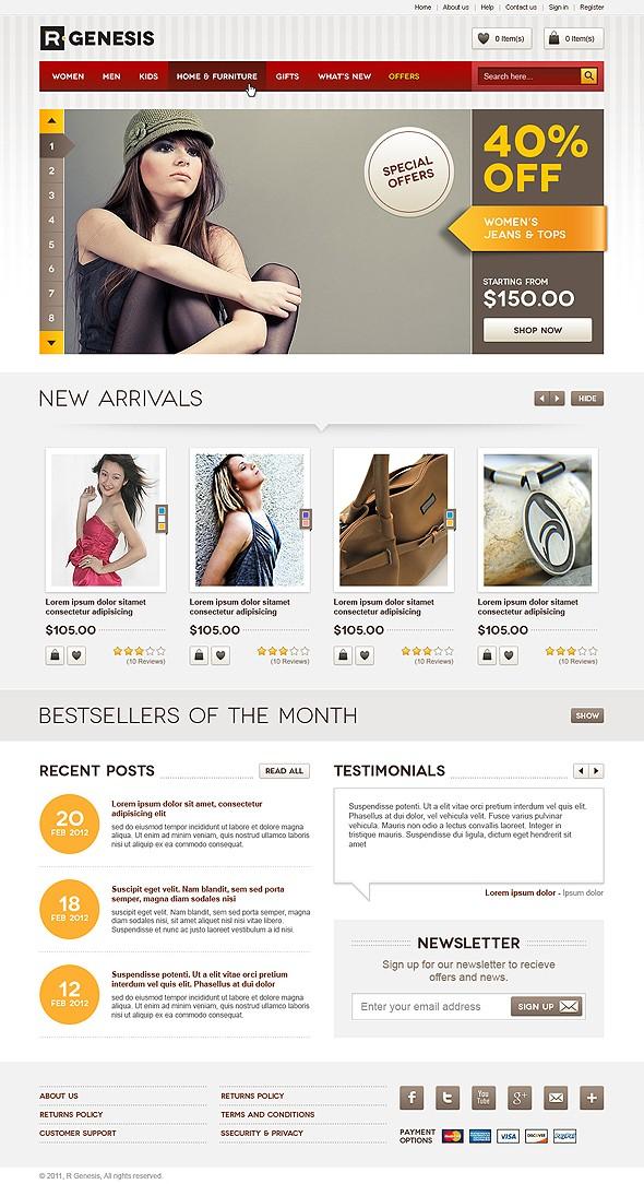 25 Creative Ecommerce Web Design Inspiration 36
