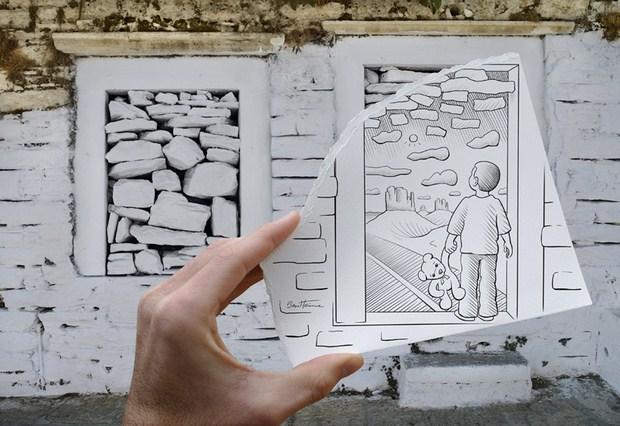 Pencil Vs Camera – Creative Artwork by Ben Heine 47