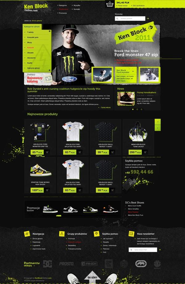 25 Creative Ecommerce Web Design Inspiration 52