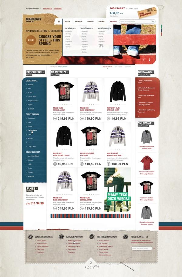 25 Creative Ecommerce Web Design Inspiration 53