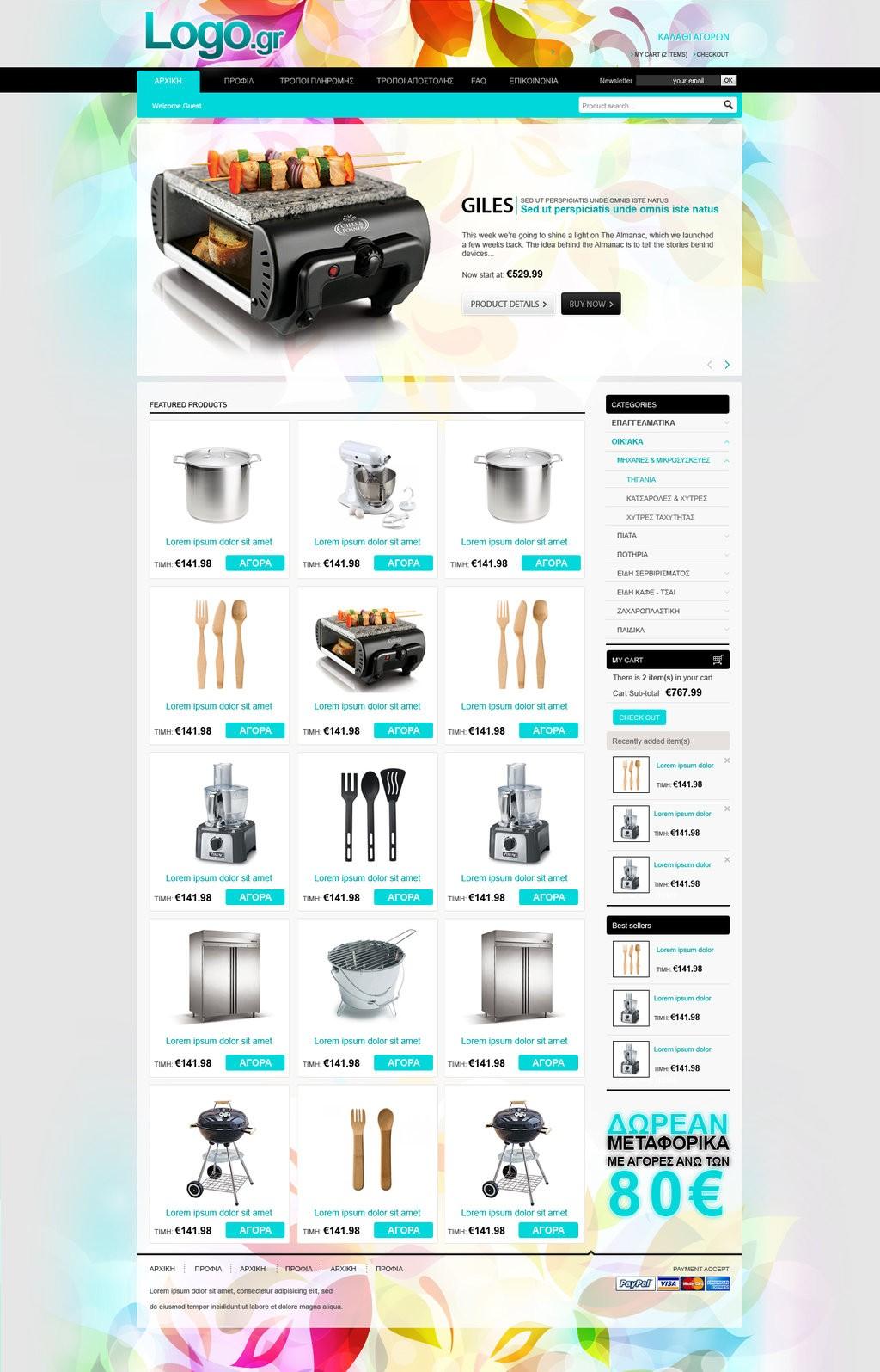 25 Creative Ecommerce Web Design Inspiration 54