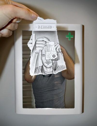 Pencil Vs Camera – Creative Artwork by Ben Heine 54