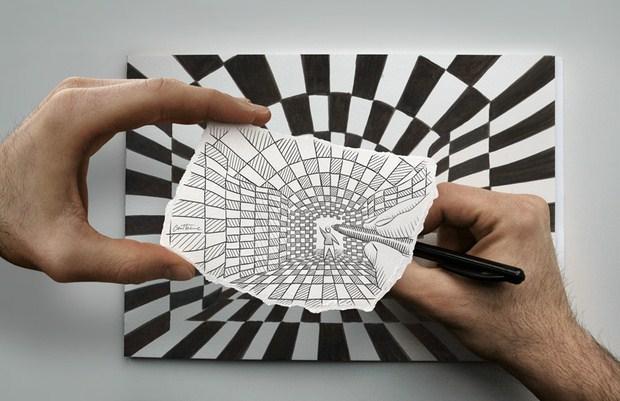 Pencil Vs Camera – Creative Artwork by Ben Heine 55