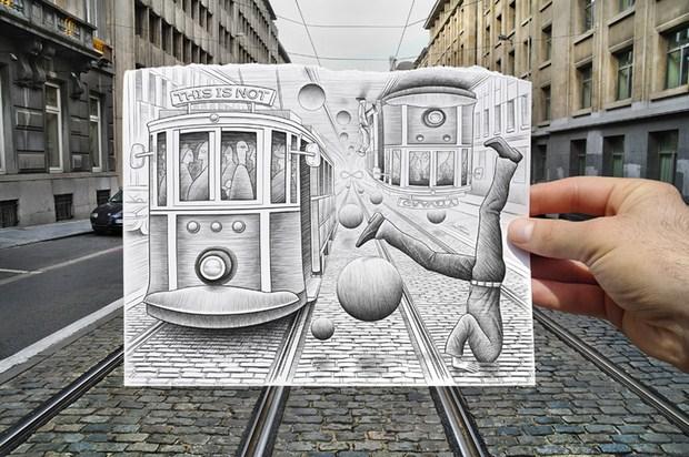 Pencil Vs Camera – Creative Artwork by Ben Heine 58