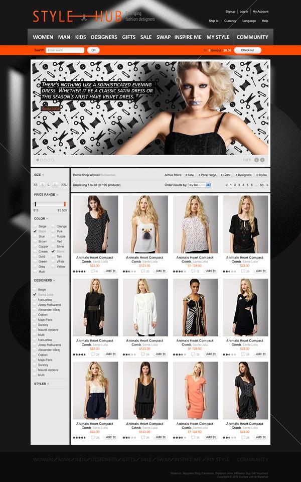 25 Creative Ecommerce Web Design Inspiration 60
