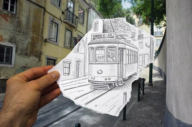 Pencil Vs Camera – Creative Artwork by Ben Heine 60