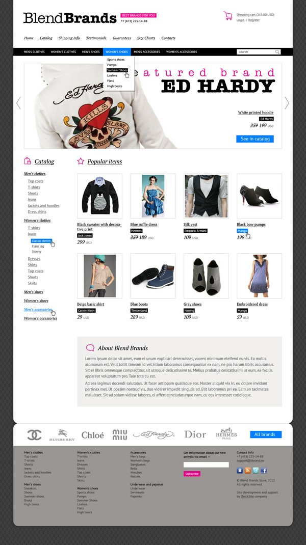 25 Creative Ecommerce Web Design Inspiration 61