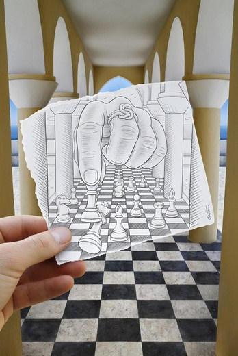 Pencil Vs Camera – Creative Artwork by Ben Heine 61