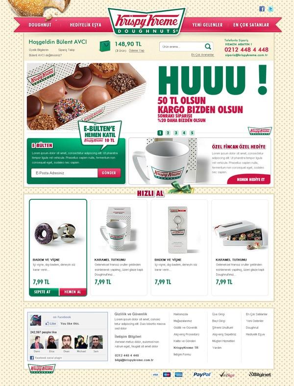25 Creative Ecommerce Web Design Inspiration 42