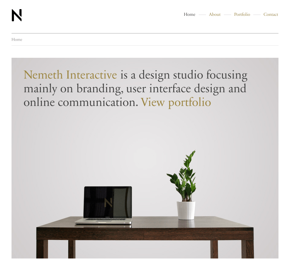 20 Minimal Web Designs For Your Inspiration 44