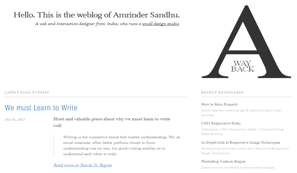 25 Amazing Examples Of Minimalism In Web Design 2