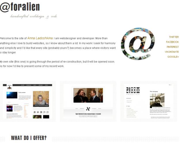 25 Amazing Examples Of Minimalism In Web Design 4