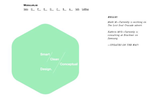 25 Amazing Examples Of Minimalism In Web Design 16