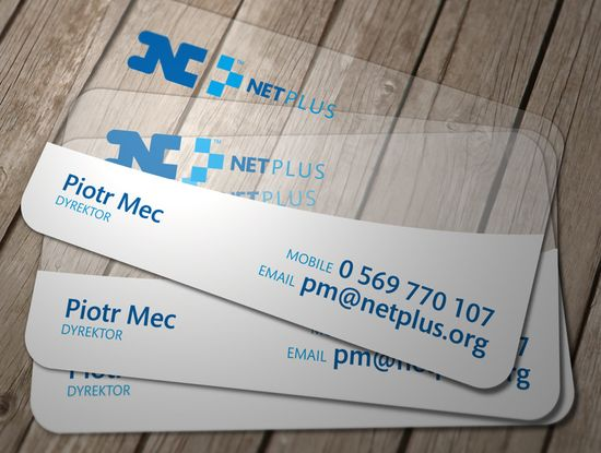 20+ Examples of Stunning and Transparent Business Card Design 6