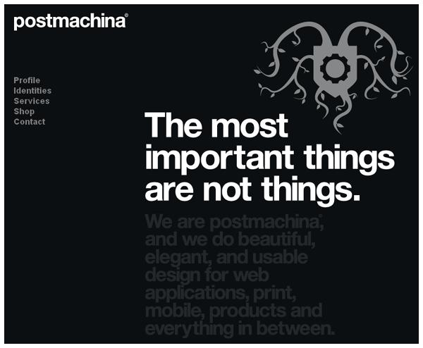 25 Amazing Examples Of Minimalism In Web Design 20