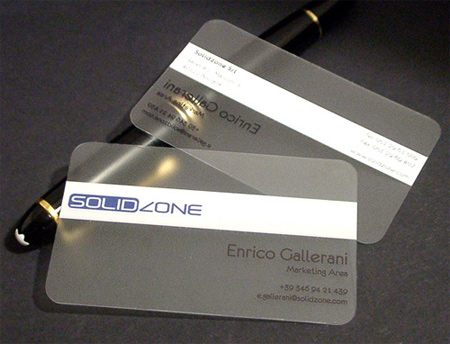 20+ Examples of Stunning and Transparent Business Card Design 21