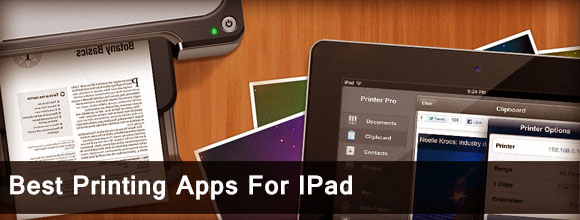 Best Printing Apps for IPad 1