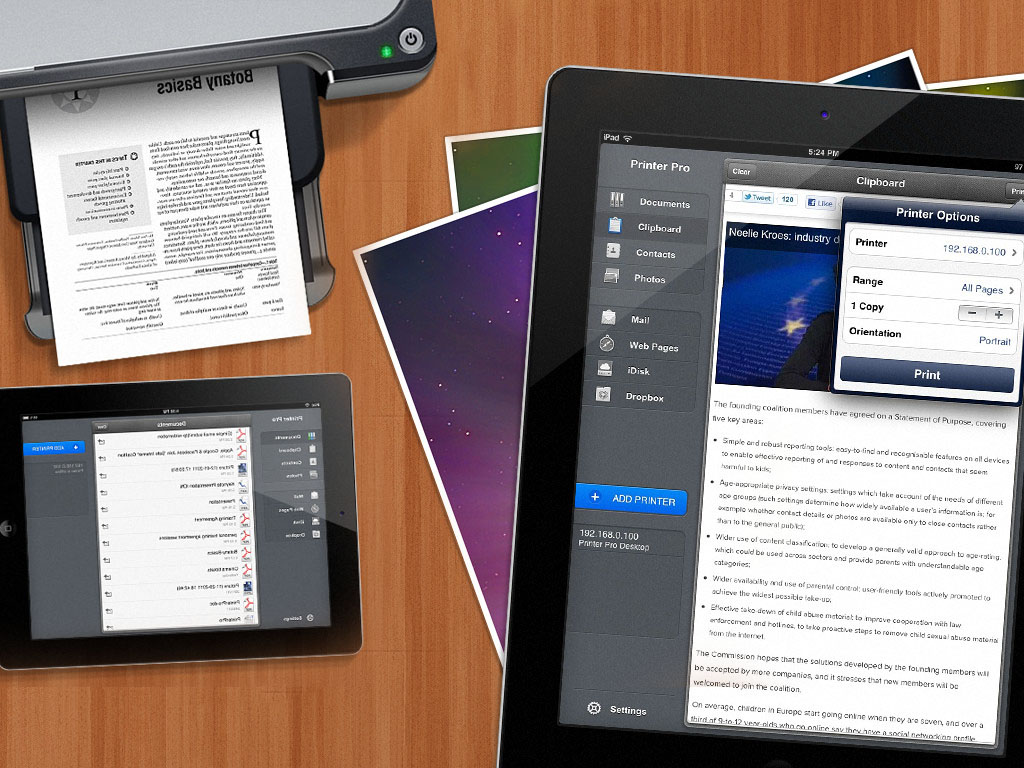 Best Printing Apps for IPad 2