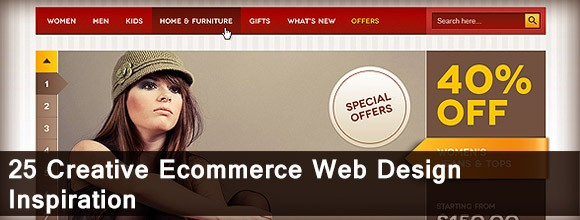 25 Creative Ecommerce Web Design Inspiration 1