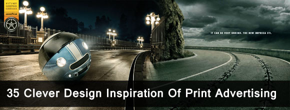 35 Clever Design Inspiration Of Print Advertising 1