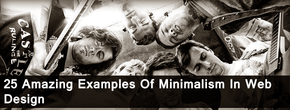 25 Amazing Examples Of Minimalism In Web Design 1