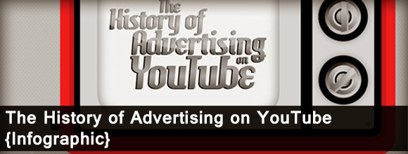 The History of Advertising on YouTube – Infographic 1