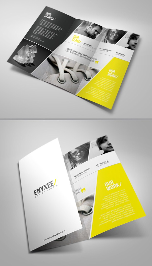 awesome brochure designs
