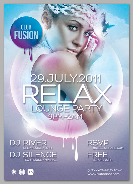 15 Best Psd Party Flyers For Free Downgraf