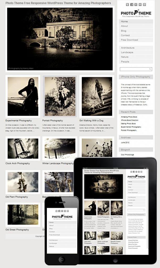 Free Grid Style WordPress Themes 36