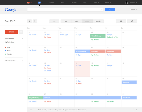 A Clean & Minimal Concept of Google Product Redesign 14