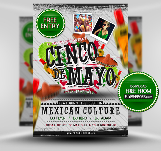 15 Best PSD Party Flyers For Free 15