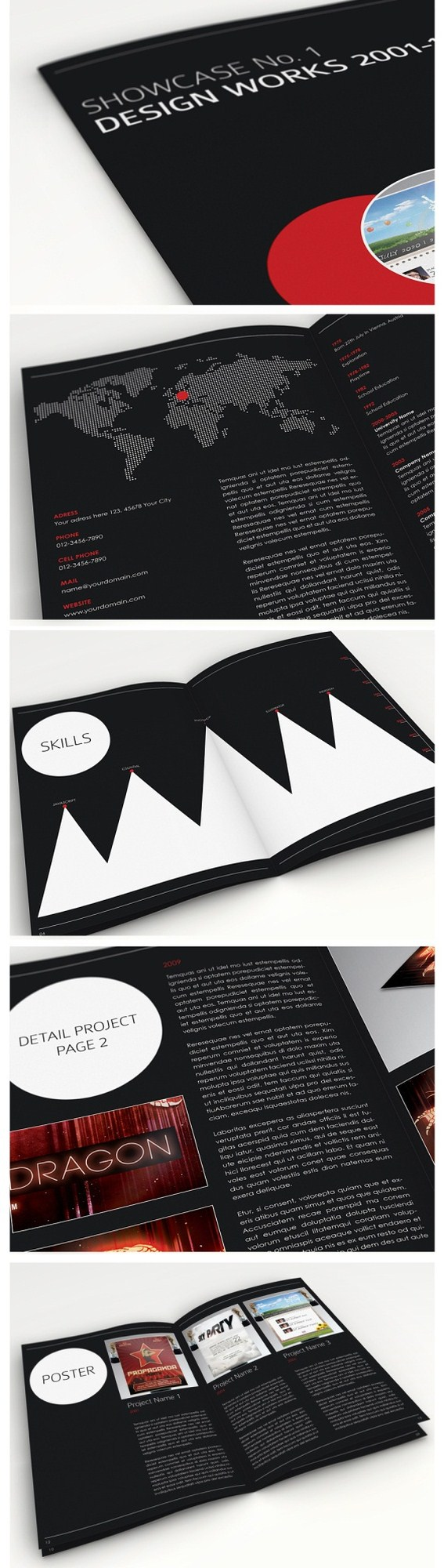 20 Awesome Brochure Designs Inspiration 54